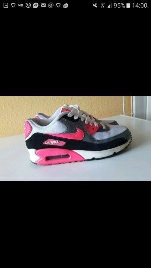 Nike Air Max Pink Grau
