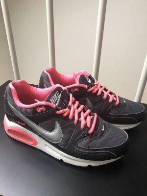 Nike Air Max pink/grau/schwarz Größe 38,5