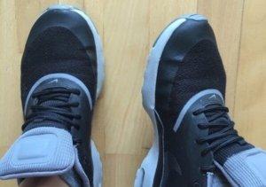 Nike Zapatilla brogue negro-gris