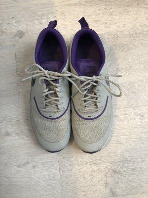 Nike Zapatilla brogue gris-violeta oscuro
