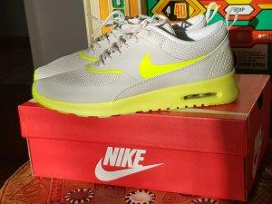 Nike Sneakers met veters lichtgrijs-neongeel