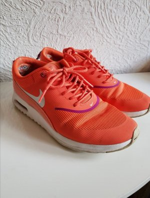 Nike Sneakers met veters neonoranje-violet