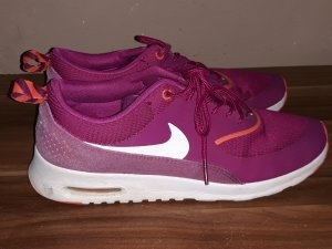 Nike Sneakers wit-lila