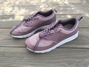 Nike Zapatos brogue lila grisáceo-malva