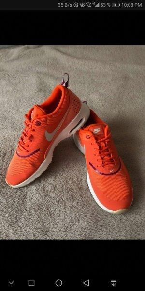Nike Air Max Thea Orange Sneakers