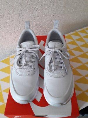 Nike Sneakers met veters zilver-lichtgrijs Leer
