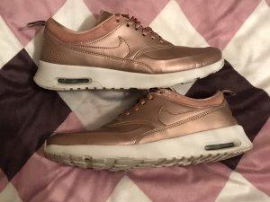 Nike Air Max Thea Schuhe Gold Rosegold Rose 42 wie neu