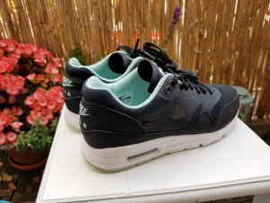 Nike Air Max Ultra Essentials Sneaker Schwarz Türkis Mint Weiss