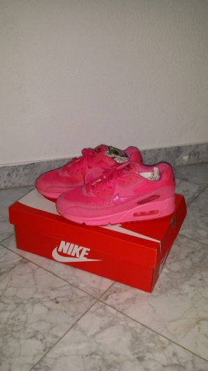 Nike Sneakers met veters neonroos