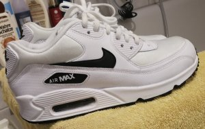 nike air Max weiß schwarz 39
