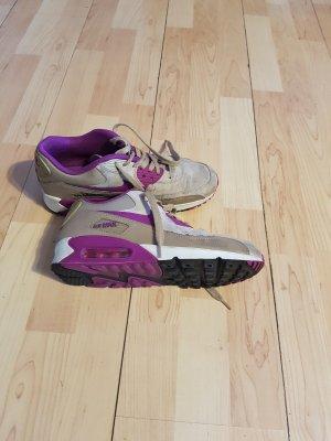 Nike Zapatilla brogue marrón claro-lila
