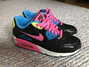 Nike Air Pink schwarz gelb  37,5