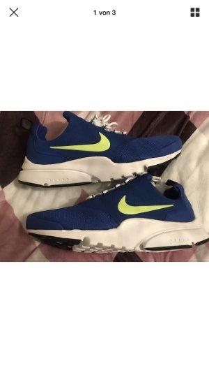 Nike Air Presto Fly Schuhe Sportschuhe Sneakers blau neon gelb 41 neu