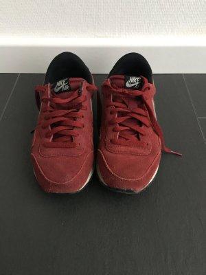 Nike Air Schuhe Sneaker Weinrot