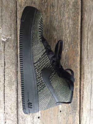 Nike Zapatilla brogue negro-verde oscuro