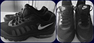 Nike Air Sneaker,Sportschuhe Farbe Schwarz Gr.37/37,5