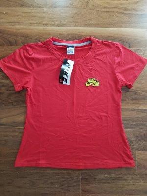 Nike Camiseta amarillo-rojo