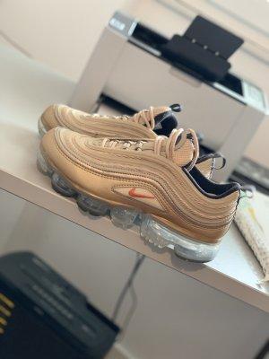 Nike Sneakers met veters goud Katoen