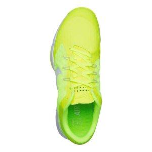 Nike Air Zoom Ultra Allcourtschuh  ,TENNIS -Damen - Neongelb, Weiß