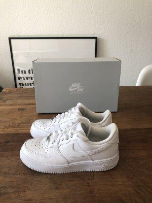 Nike Zapatilla brogue blanco Cuero