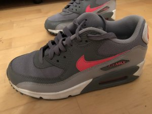 Nike Sneaker grigio-rosa