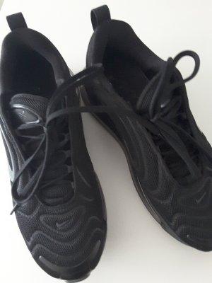Nike Sneakers met veters zwart Nylon