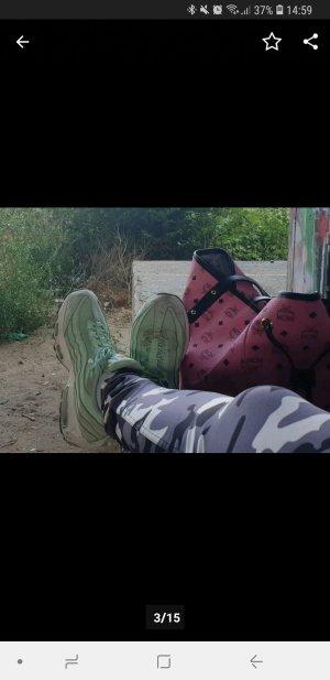 Nike Sneaker stringata turchese-menta
