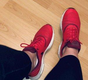 Nike Zapatilla brogue rojo-burdeos