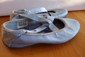 Nike Ballerina Schuhe Turnschuhe Tanzen Satin hellblau Gr. 38