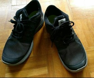Nike Zapatillas gris oscuro-gris antracita