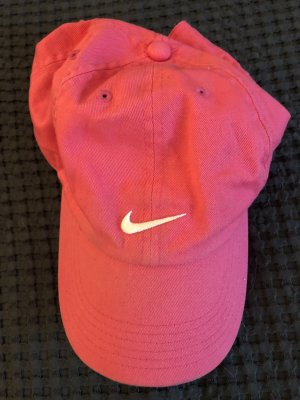 Nike Casquette de baseball rose-blanc
