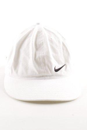 Nike Berretto da baseball bianco stile casual