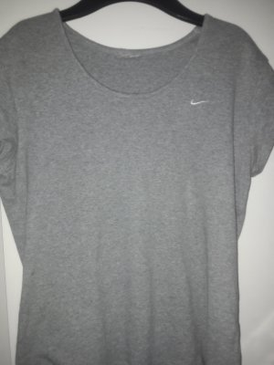 Nike Ribbed Shirt silver-colored-white