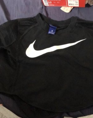 Nike Maglia a rete nero-bianco