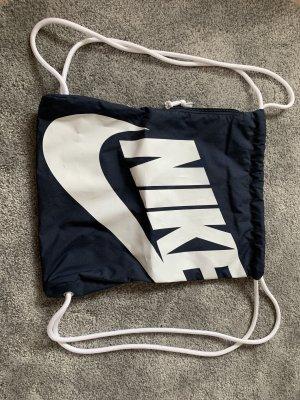 Nike Sac seau bleu foncé-blanc