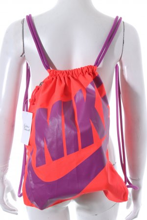 Nike Pouch Bag lilac-neon orange athletic style