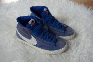 Nike Blazer blau, Größe 37,5