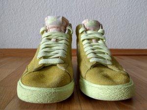 Nike Blazer - gelb / limegreen Neon