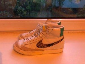 Nike Blazer high Sneaker Turnschuhe Leo Snake Print Gr. 40