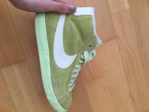 Nike Blazer in Limettengelb / Gr. 38