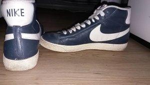 Nike Blazer Leder Dunkelblau