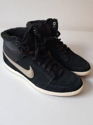 Nike High Top Sneaker black-bronze-colored