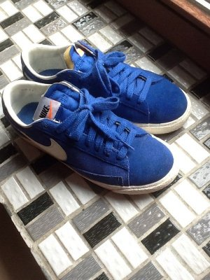 Nike Sneaker stringata blu Scamosciato