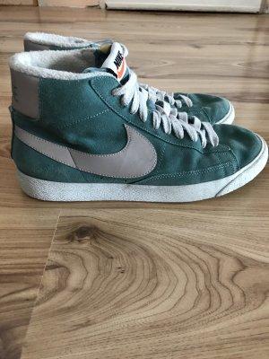 Nike blazer mid suede vintage in türkis