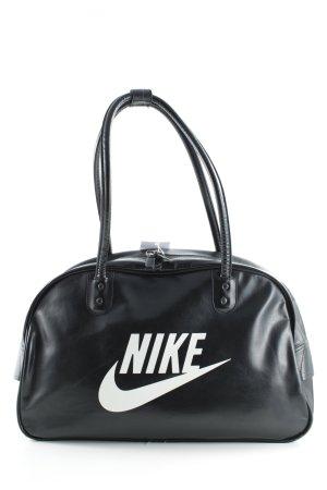 Nike Bowlingtasche schwarz-weiß sportlicher Stil