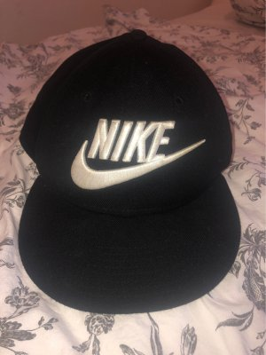 Nike Baseball Cap white-black