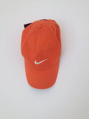 Nike Cap orange mit Klettverschluss