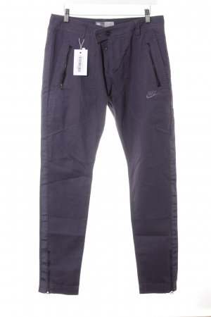 Nike Chinohose dunkelviolett Casual-Look