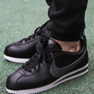 Nike Classic Cortez leather Black/grey