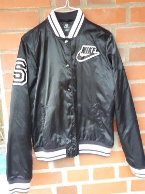 Nike Giacca college bianco-nero